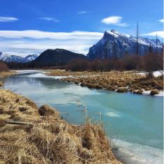 CANADA-ALBERTA-VERMILLION-LAKES-SQUARE