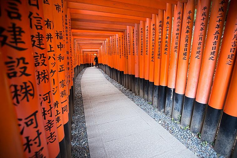 Fushimi Inari Taisha Shrine. Shutterstock.