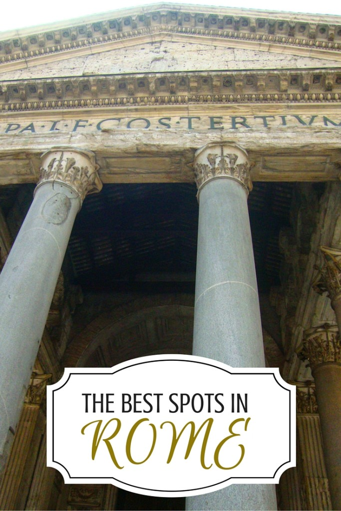 The best spots in Rome, Italy