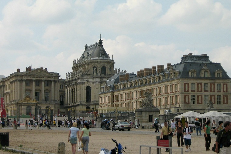 The Palace of Versailles.