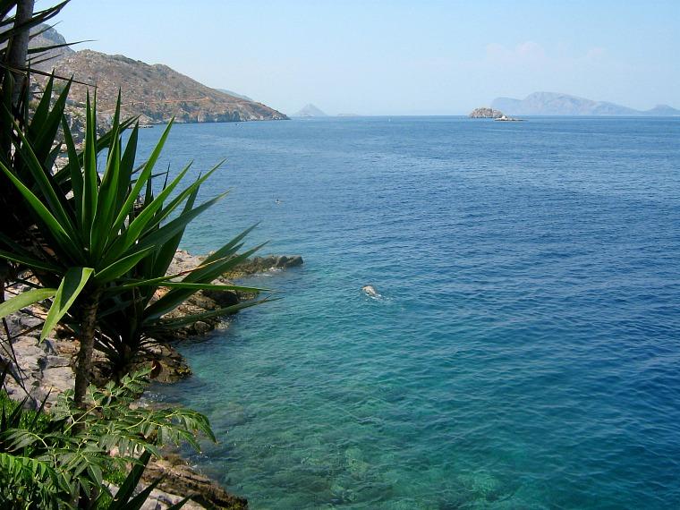 greece sailing yacht water Hydra, Greece.