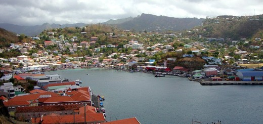 View of the harbour.