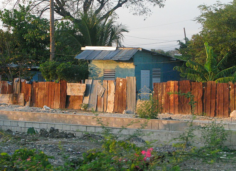 A shanty in Jamaica.