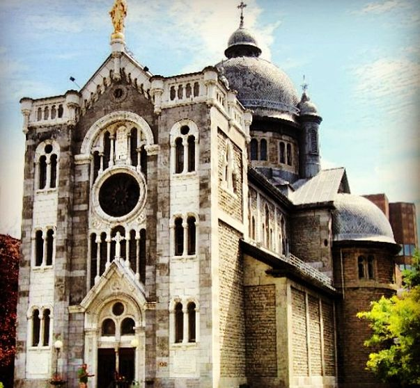 Cathedral in Montreal, Canada