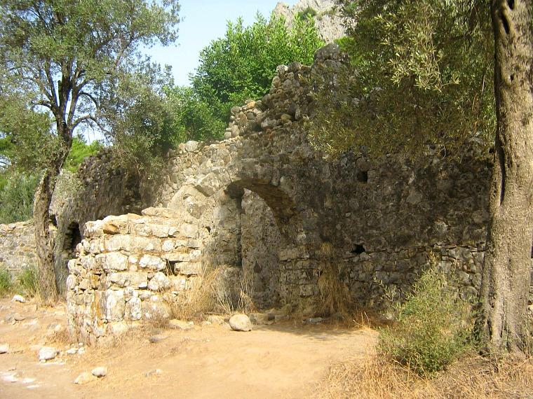 Lycian ruins.