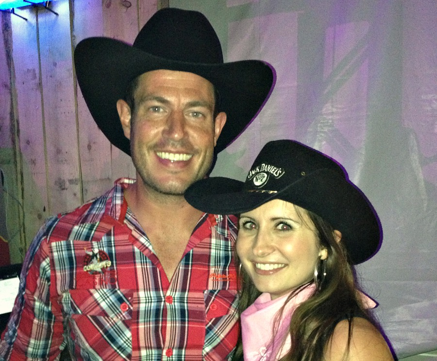 That time I partied with Jesse Palmer- AKA the former NFL quarterback and Bachelor.