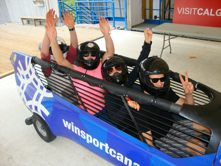 CANADA-COP-BOBSLED