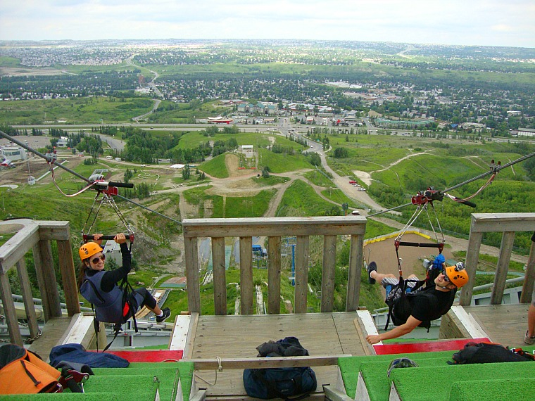 Canada Olympic Park The Perfect Place For Daredevils