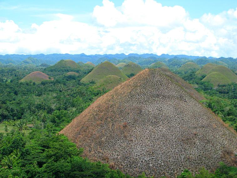 The Chocolate Hills. philippines