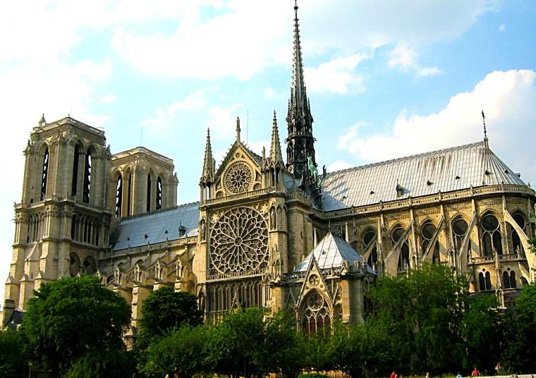 Notre Dame Cathedral. paris