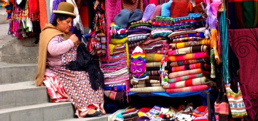 Handicrafts in the Witches Market.