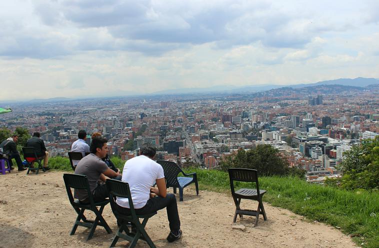 The view from La Calera.