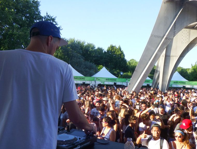 Piknic Electronik in Montreal.