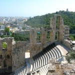 Ruins in Athens.