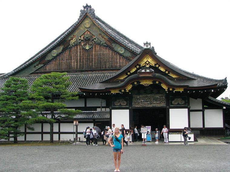 Nijo Castle, residence of the shogun.