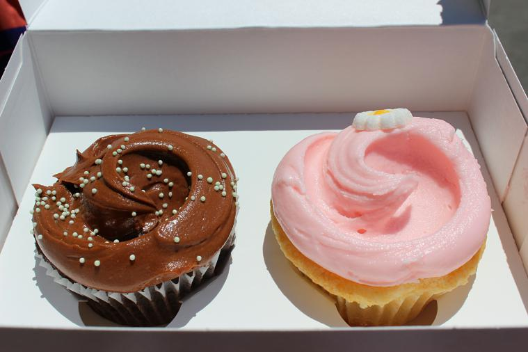 Cupcakes from Magnolia Bakery.