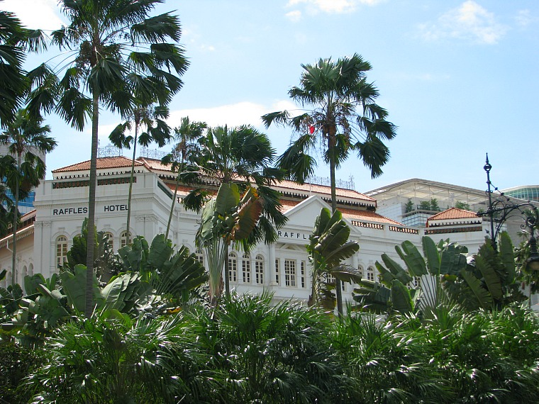 The famous Raffles Hotel.