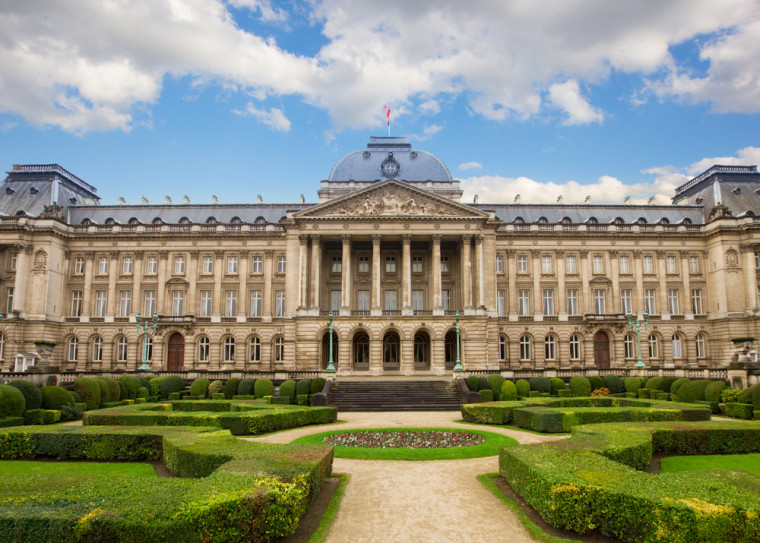 Royal Palace of Brussels. Shutterstock. belgium