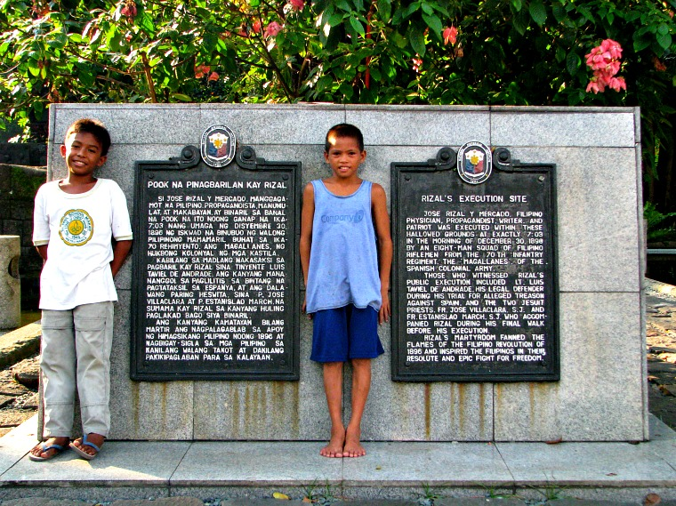 manila philippines rizal park
