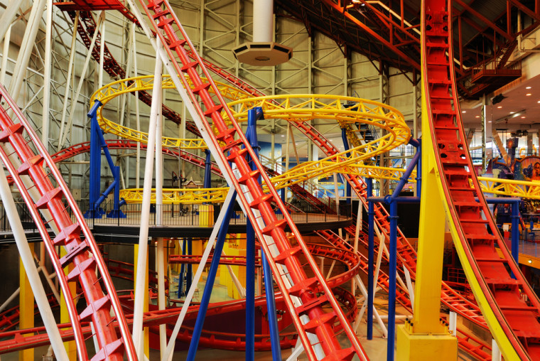Galaxyland in West Edmonton Mall.