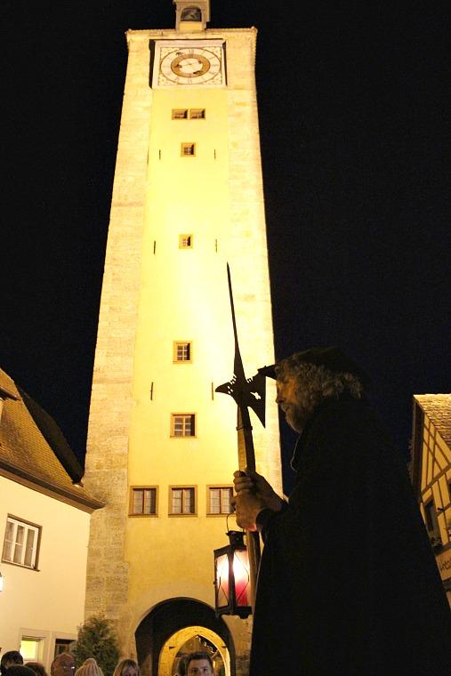 ROTHENBURG OB DER TAUBER germany night watchmans tour