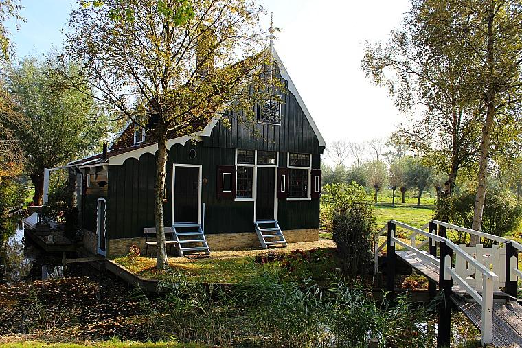 Zaanse Schans, Netherlands. house