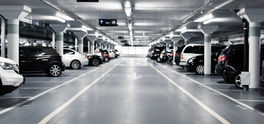 A parking lot. Courtesy of Shutterstock.