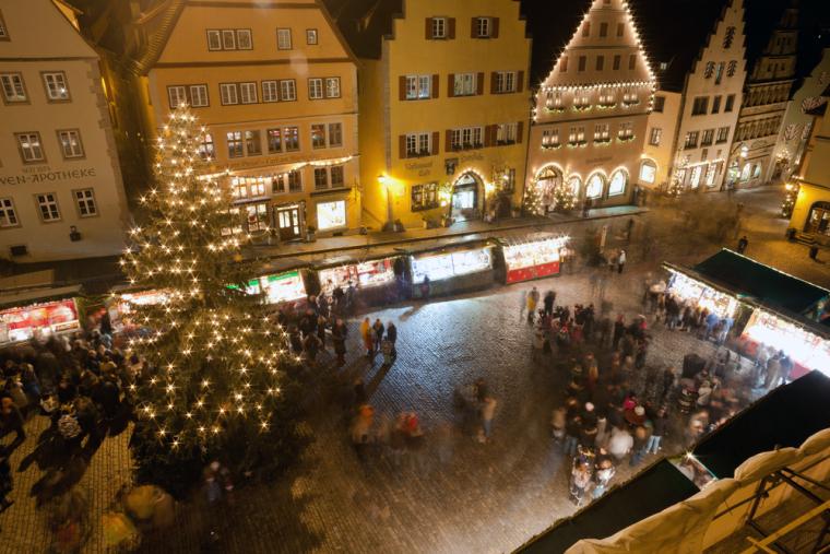 GERMANY-ROTHENBURG-CHRISTMAS-MARKETS
