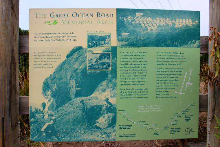 australia-great-ocean-road-plaque