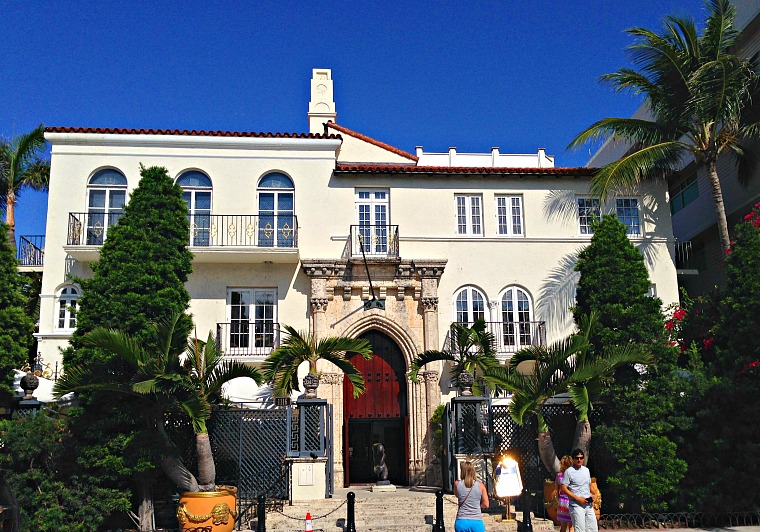 The Versace mansion