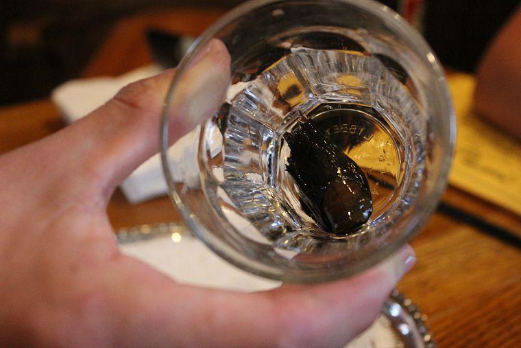 dawson city sourtoe cocktail