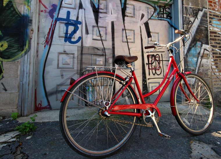 My bike, pre-Basketgate