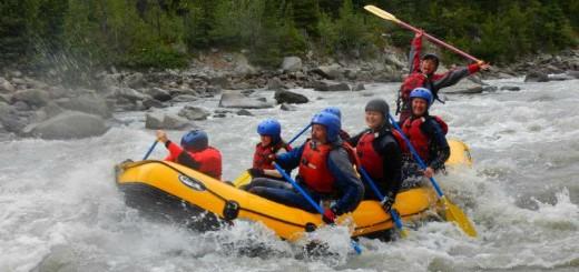 white water rafting yukon