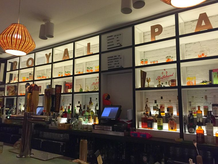 Royal Palms bar in Brooklyn, New York