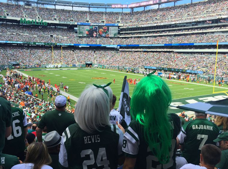 Pretty much your average New York Jets fans.