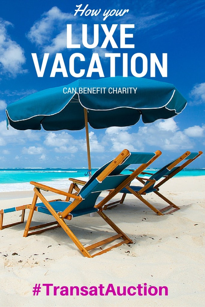 How your vacation can benefit charity