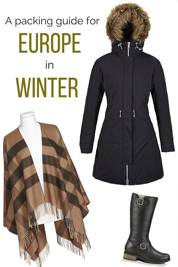 A packing guide to winter in Europe
