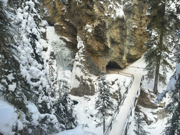 Johnston Canyon, ALberta