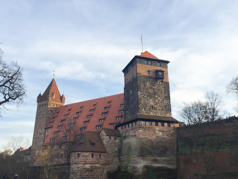 German-Nuremberg-wall-tower (1 of 1)