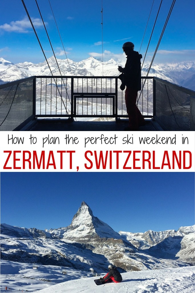 How to plan the perfect ski weekend in