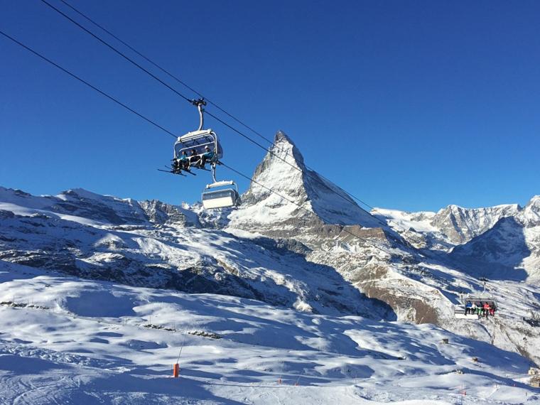 Switzerland-Zermatt-Chairlift-Matterhorn (1 of 1)