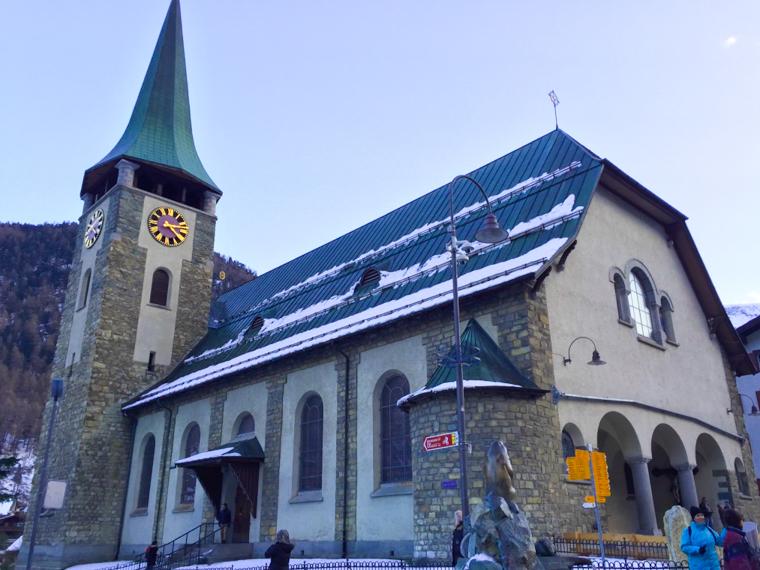 Switzerland-Zermatt-Church (1 of 1)
