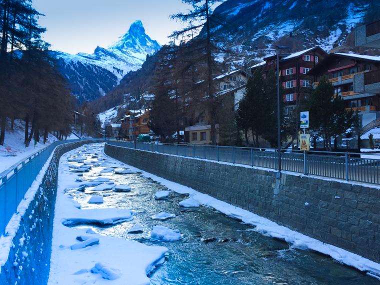 Switzerland-Zermatt-River-Matterhorn (1 of 1)
