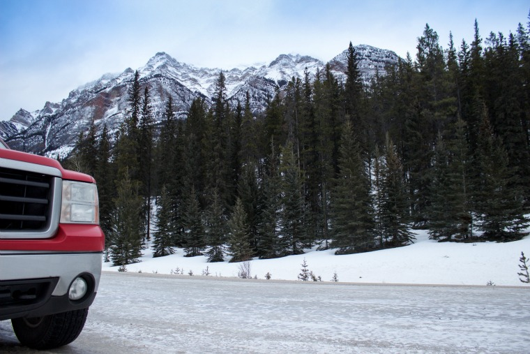 Canada-Alberta-Jasper-Parkway-Truck