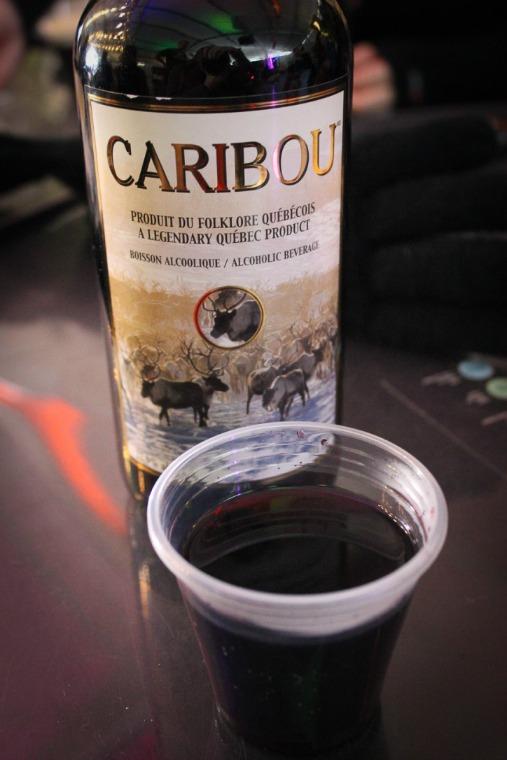 Quebec Winter Carnival Caribou