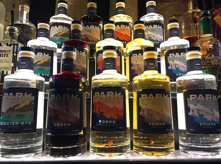 Canada-Alberta-Banff-Park-Distillery-Vodkas