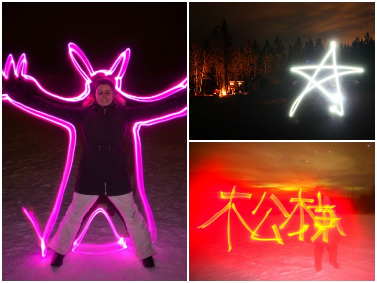 northern lights yukon