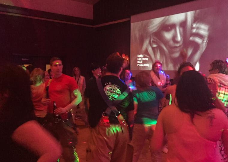 Canada-Alberta-Jasper-Fairmont-PJ-Party-Dance-