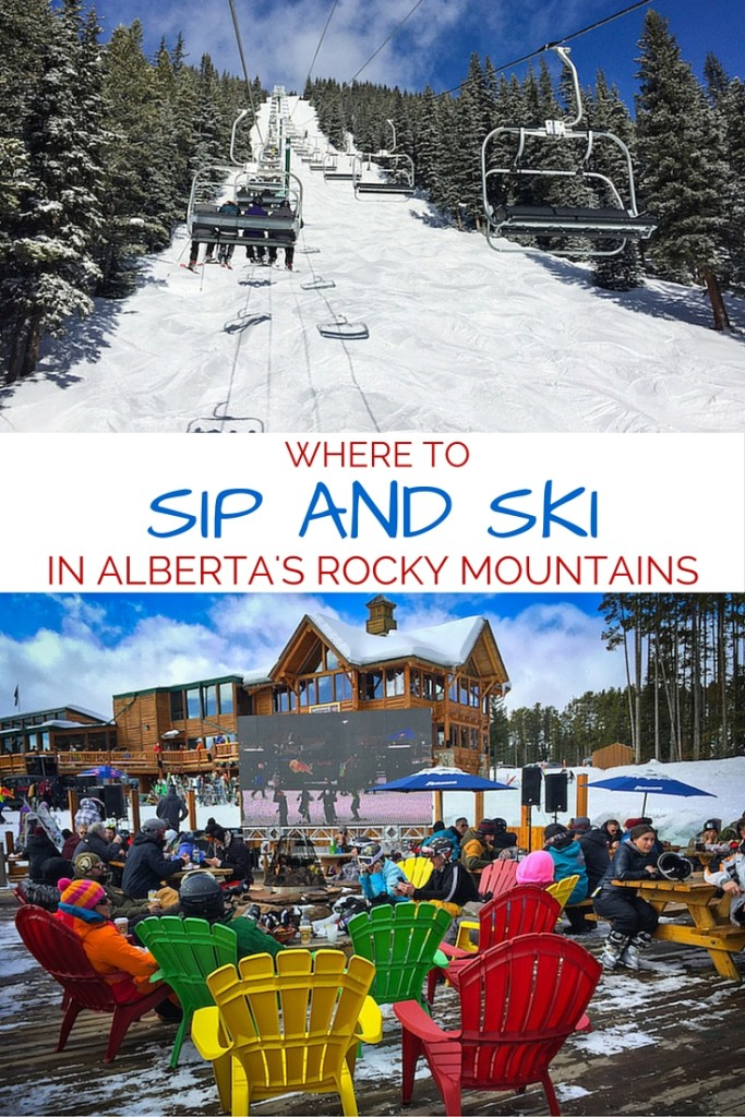 Where to sip and ski in Alberta's Rocky Mountains