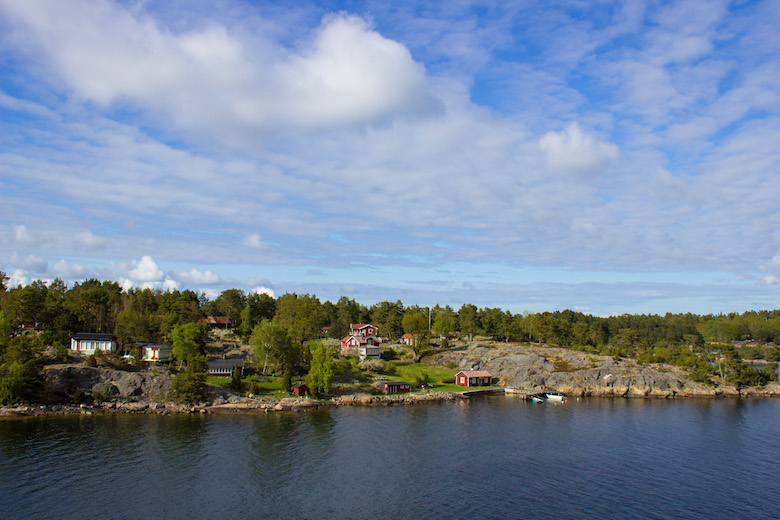 Sailing between Sweden and Finland